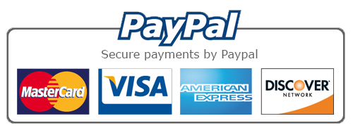 Payment Methods that we accept is PAYPAL